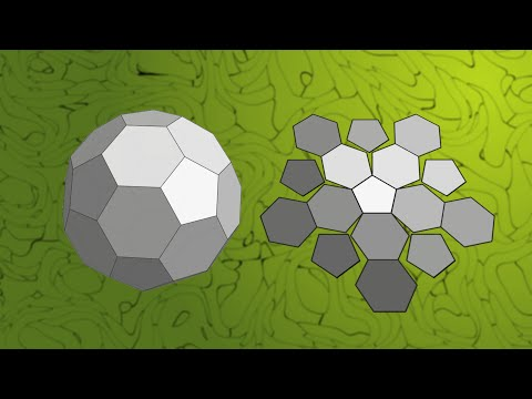 Truncated icosahedron puzzle (assembly solution)