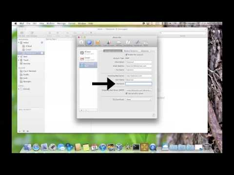 Changing Passwords in OS X Mail