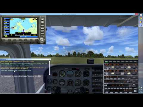 FSX: Let's Learn to Fly Together ★ Part 4: Cockpit Familiarization #3