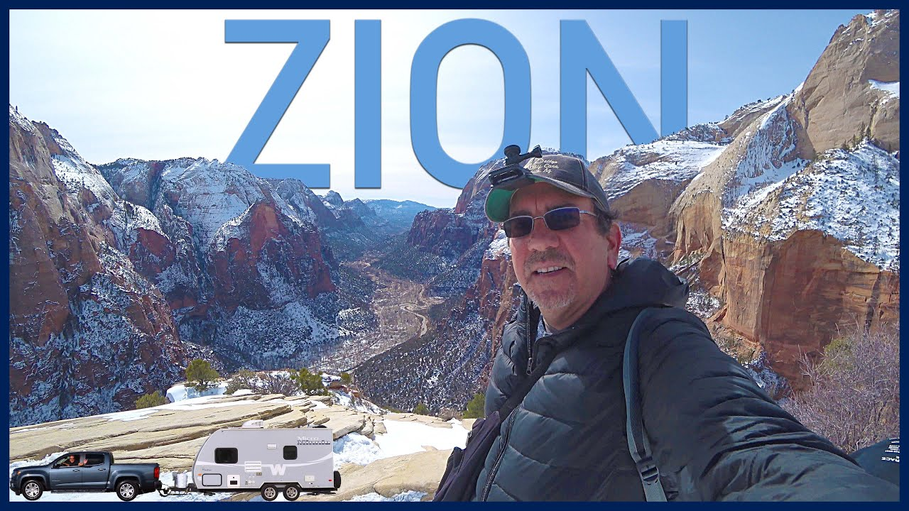 Zion National Park in the Winter and the Perilous Angels Landing Hike