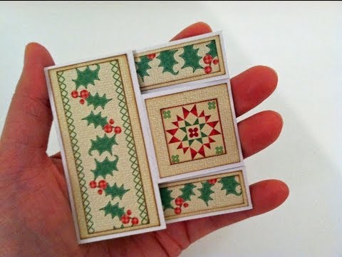 Mini Trifold Shutter Card