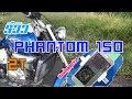 Download lagu รีวิว Honda Phantom 150 | 2 จังหวะ ของสายจ๊วด - EP.1