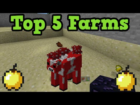 Minecraft Xbox 360 / PS3 - Top 5 Farms You'll Want To Use