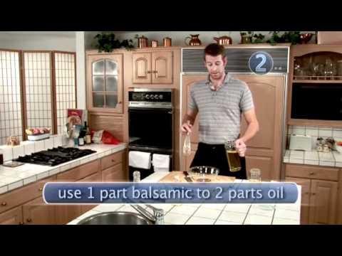 How To Prepare Balsamic Vinaigrette Dressing