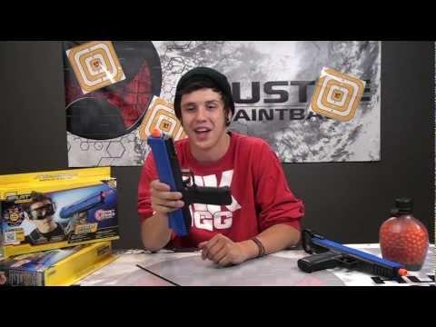 JT SplatMaster Z100 Pistol Review & Walk-Through by HustlePaintball.com
