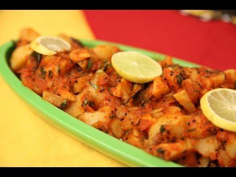 Best Lasooni Aloo (Garlic Potato Curry) By Seema