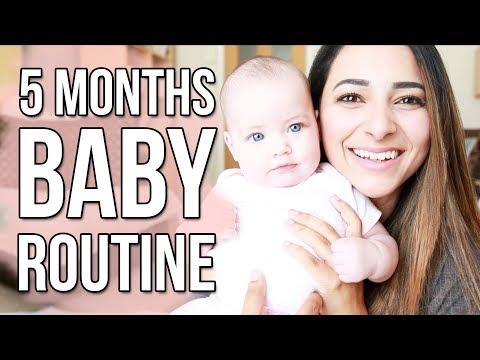 5 MONTH OLD BABY ROUTINE | BABY FEEDING AND SLEEPING SCHEDULE | Ysis Lorenna