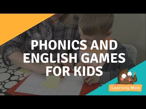 Spelling, Phonics and English Games for Kids - Tricky Words Game - LearningMole-ESL -Homeschool