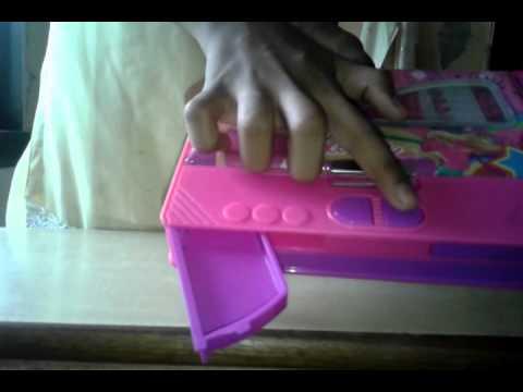 Barbie pencil box.