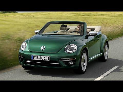 2017 Volkswagen Beetle Cabriolet Interior, Exterior and Drive