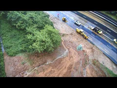 I-40 Mudslide Near Buncombe/McDowell County Line