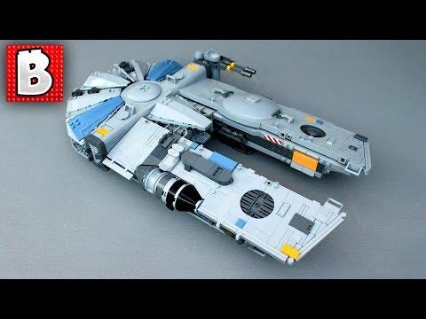 LEGO Star Wars Corellian Freighter Custom Build! | LEGO TOP 10 MOCs