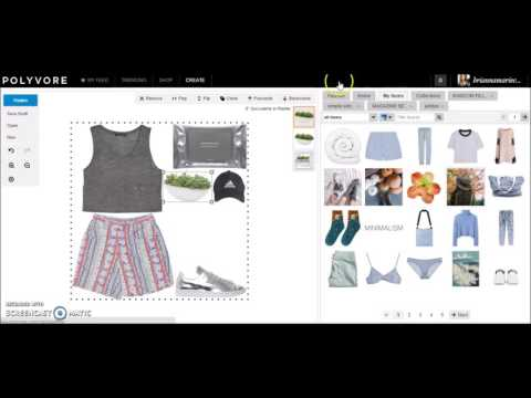 Polyvore Tutorial: How I Make My Simple Sets