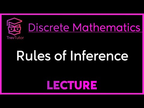 [Discrete Math 1] Rules of Inference