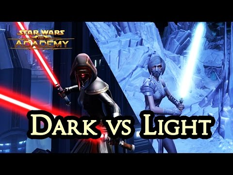 The Dark vs Light System in SWTOR - The Academy