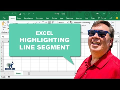Highlighting Line Segment - 1016 - Learn Excel from MrExc...