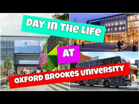 Day in the life of a Brookes University Student |Oxford Brookes 2018