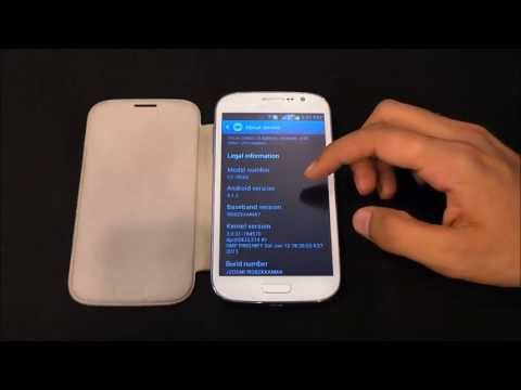 Galaxy Grand : Android 4.2.2 Jellybean (Leaked) - How to Install / Upgrade