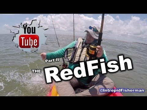 High Island Part II Epic Bull Redfish