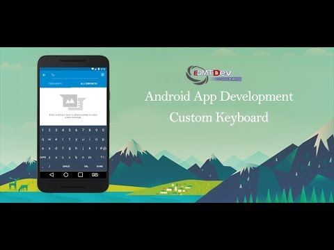 Android Studio Tutorial - Built your own Keyboard edmt dev