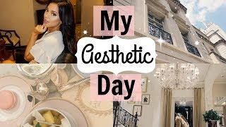 my aesthetic day! dying my hair darker, brunch in nyc, & haul | fancy vlogs