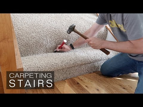 How to Install Carpet on Stairs - how hard is it?