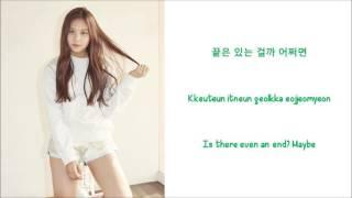 The way - Umji (of GFriend) [Shopaholic Louis OST] Lyrics [ENG+ROM]