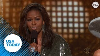 Download Michelle Obama makes surprise appearance at Grammys 2019 Video