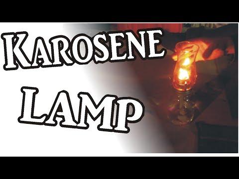 Homemade KEROSENE LAMP