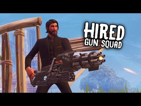 Hired Gun Squad #ReplayRoyale