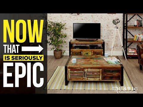 Cancun Rustic Industrial Furniture - Rustic furniture Outlet Canada