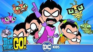 Teen Titans Go! | Robins VS. Silkies