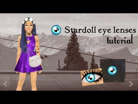 Stardoll eye lenses tutorial(easy)