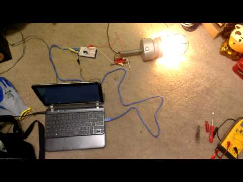 Relay Light Controller Test