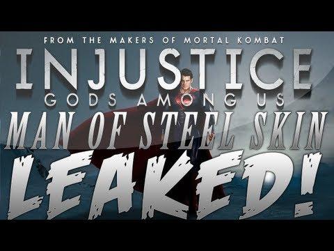 Injustice: Gods Among Us | Man of Steel Superman Skin?! (MUST SEE!)