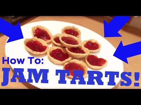 How To Make Easy Jam Tarts