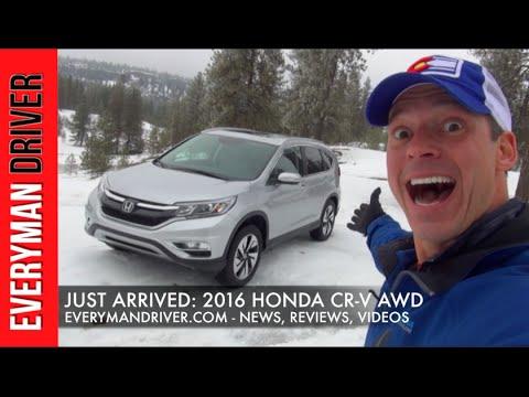 Just Arrived: 2016 Honda CR-V AWD on Everyman Driver