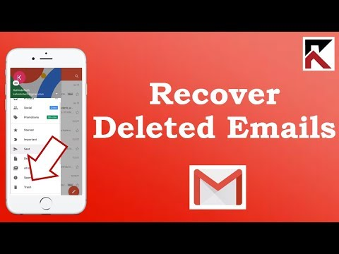 How To Recover Deleted Emails Gmail iPhone
