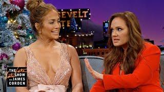 Leah Remini & Jennifer Lopez Explain Brooklyn v. Bronx