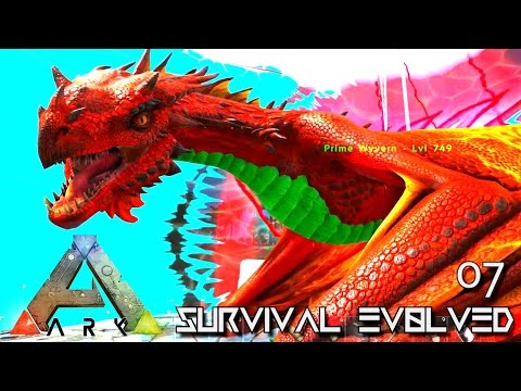 ARK: SURVIVAL EVOLVED - NEW WYVERN EVOLUTION THE UNKNOWN !!! E07 (MOD ARK ETERNAL CRYSTAL ISLES)