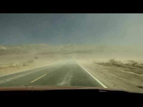 Sandsturm in Death Valley