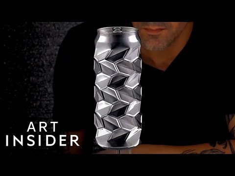 Cans Are Transformed Into Amazing Works Of Art