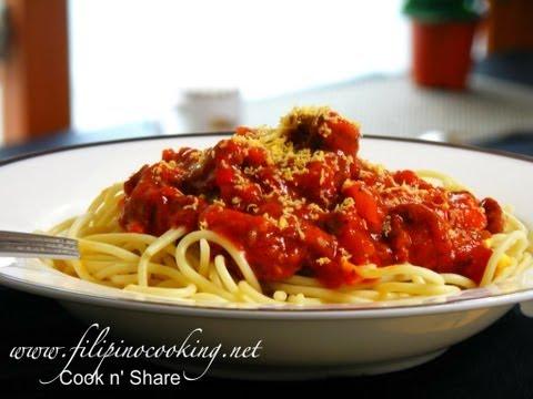 Spaghetti Filipino Style