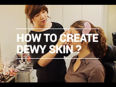 Korean Base Makeup Tutorial - How to Create Dewy Skin by CWK | Wishtrend