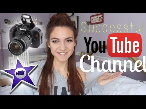 How to start a SUCCESSFUL Youtube Channel + How to get VIEWS & SUBSCRIBERS!