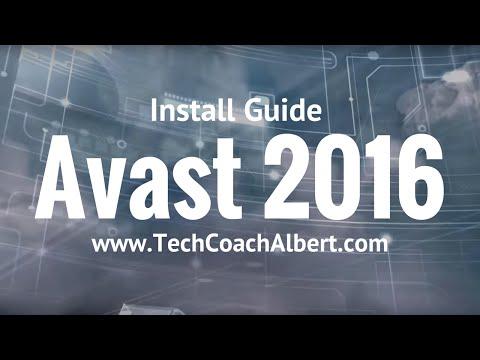 How To: Avast Antivirus Free 2016 Install Guide