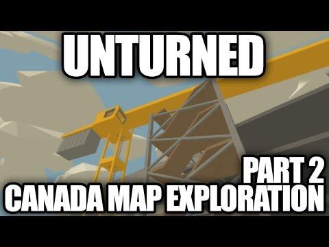 Unturned CANADA MAP EXPLORATION: Alberta, Vancouver, Yukon, Nunavut, Yellowknife
