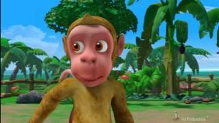 Monkey Menace Stories for Children in Hindi