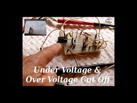 Under Voltage/Over Voltage Cut Off Circuit (12vdc/120v/240v)