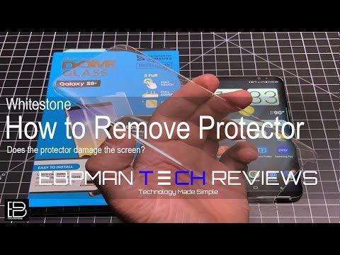 Whitestone Dome Glass Removal is Easily?  See the video for more!